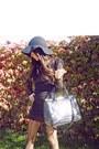 H-m-blouse-forver21-dress-haute-rebellious-hat-haute-rebellious-shoes-ha