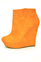carrot orange orange wedges HAUTE & REBELLIOUS wedges