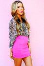Bubble-gum-haute-rebellious-skirt-tan-haute-rebellious-blouse-black-haut
