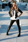 Black-urban-outfitters-leggings-black-double-zero-jacket-black-bamboo-boots-