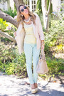 Light-yellow-haute-rebellious-pumps-light-pink-h-m-blazer