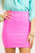 bubble gum HAUTE & REBELLIOUS skirt