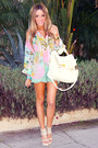 Aquamarine-haute-rebellious-shorts-light-pink-haute-rebellious-blouse