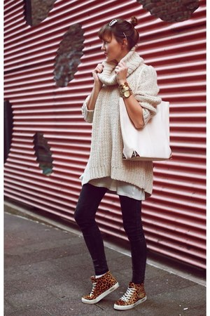 H&M sweater - Alexander Wang bag