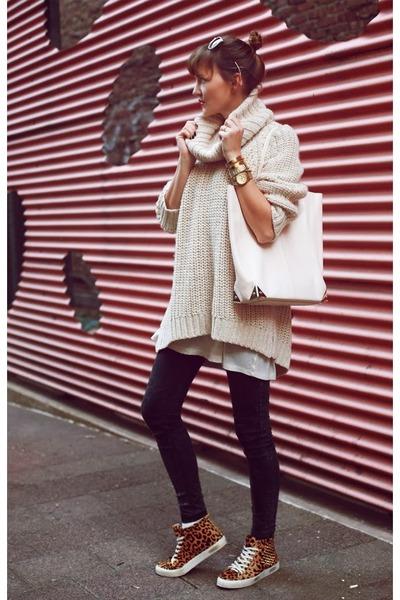 H&M sweater - Alexander Wang bag