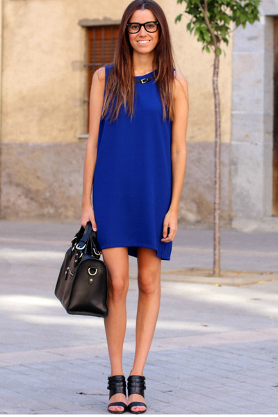Mango dress - Zara sandals