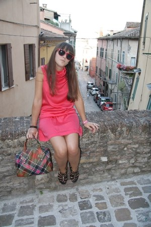 Liviana Conti dress - vivienne westwood bag - alberto fermani flats