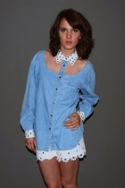 chambray denim vintage shirt