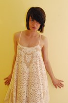 cotton lace Style Fawn dress
