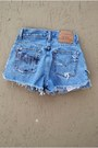 Denim-shorts-levis-shorts