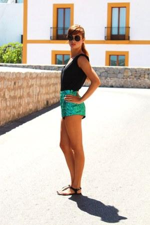 strass shorts