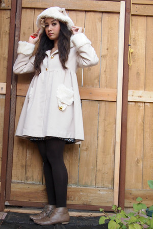 ankle boots boots - Bodyline coat - ck tights