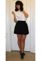 Gap shirt - H&M skirt - Aldo shoes