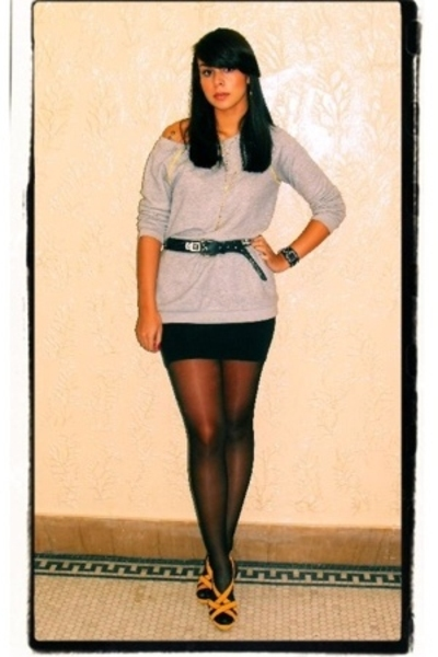 lux uo - American Apparel skirt - Colin Stuart shoes