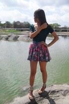 DND skirt - DND shirt - ONESELF sandals
