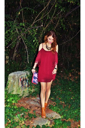 Zara shoes - Tobi dress - Bershka bag - Zara necklace