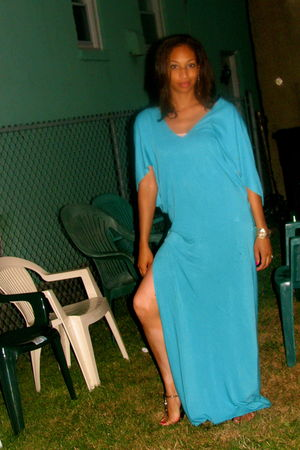 blue Devon Thomas dress