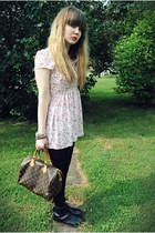 doc martens boots - c-o Club Couture dress - speedy 30 Louis Vuitton bag