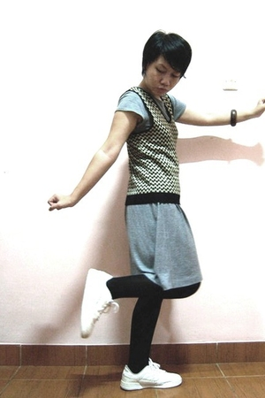 dress - vest - tights - spotec shoes