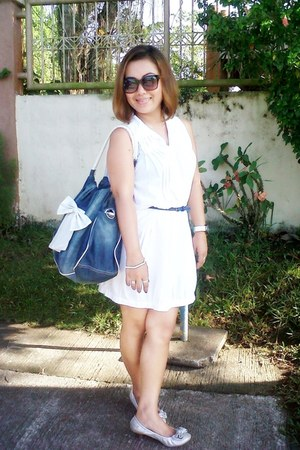 belt - shoes - shoes - dress - bag - sunglasses