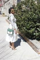 Zara blouse - asos skirt