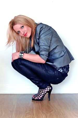 River Island jacket - London Rebel shoes - asos top - River Island -