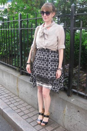 Urban Outfitters dress - H&M shirt - Rebecca Minkoff bag - Nine West heels