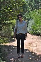 Primark top - H&M jeans - Pickpocket bag - Zara belt - Primark flats