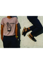by jeremy scott Swatch watch - cotton chinos Dockers pants - Davidelfin t-shirt
