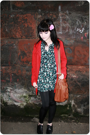 H&M coat - John Rocha dress - Topshop - Primark shoes - Faith purse