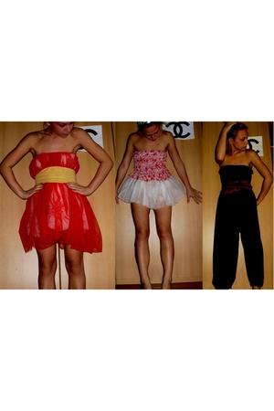 dress - belt - dress