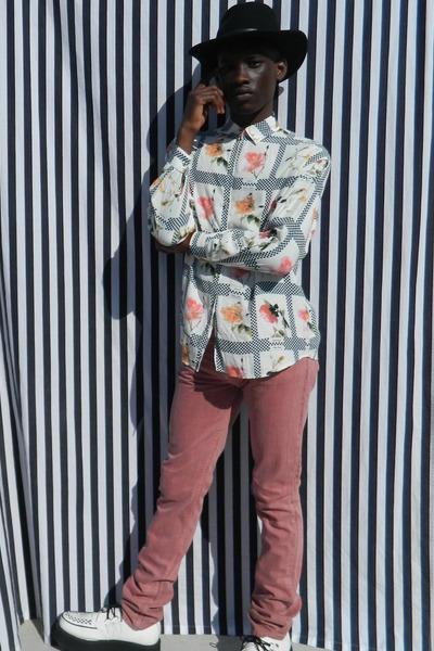 DisciplesOf shirt - TUK shoes - thvm jeans