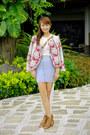 Brown-chloe-bag-blue-topshop-skirt-white-bershka-top-camel-zara-sandals