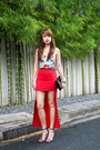 Black-louis-vuitton-bag-ruby-red-pinkaholic-skirt-aquamarine-topshop-top