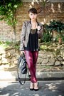 Black-31-phillip-lim-bag-black-mango-heels-crimson-h-m-pants