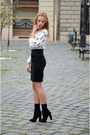 Black-bershka-boots-white-h-m-sweater-black-h-m-skirt