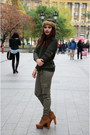 Tan-ankle-boots-jeffrey-campbell-boots-olive-green-knitted-next-sweater