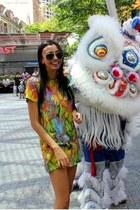 shift dragonberry dress - sunglasses Ray bans sunglasses
