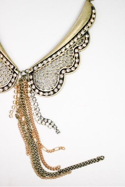 collar necklace Art Box necklace