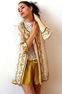 Cream-vintage-from-ebay-jacket-mustard-wholesale-shorts