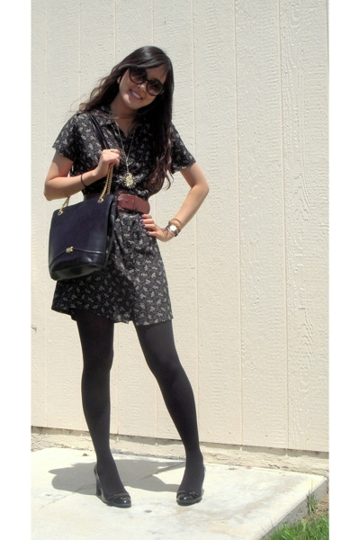 Vintage Gap dress - vintage bally purse - Isaac Mizrahi for Target shoes - Vinta