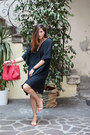 Charcoal-gray-labo-art-dress-red-danielapi-bag-black-komono-sunglasses