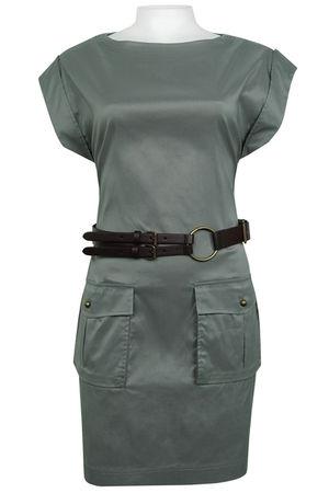 gray Suzi Chin dress