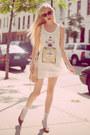 White-tank-pretty-sunday-dress-light-pink-rebecca-minkoff-purse