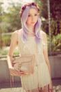 Peach-rebecca-minkoff-bag-cream-crochet-fringe-urban-outfitters-top