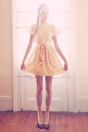 ivory cinderella dress