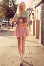 Aquamarine-blouse-light-pink-seersucker-american-apparel-skirt