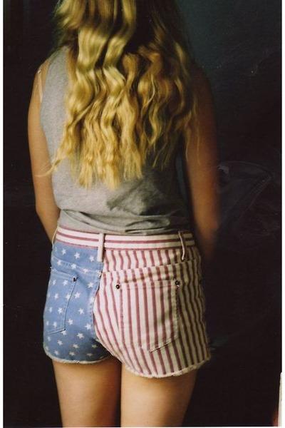 american flag shorts. usa american flag shorts
