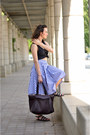 Crimson-zara-bag-navy-midi-blackfive-skirt-cropped-diy-top