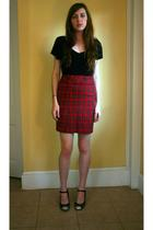 vintage skirt - Marc by Marc Jacobs shoes - Old Navy shirt